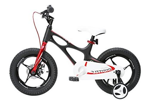 RoyalBaby newly-launched Shuttle kids bike, frame bike for and girls, inch 16 training wheels 3-6