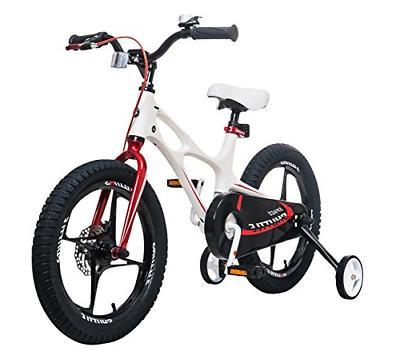Royalbaby Shuttle Kid's 16 inch Wheels, White