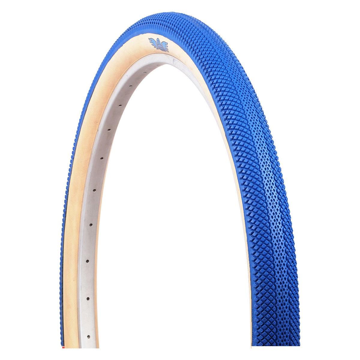 """SE RACING SPEEDSTER VEE RUBBER BLUE WITH GUM WALL 29/"""" X 2.1/"""" TIRE BMX BICYCLE"""