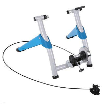 Stationary Trainer Bike Indoor Cycle Exercise Stand Foldable