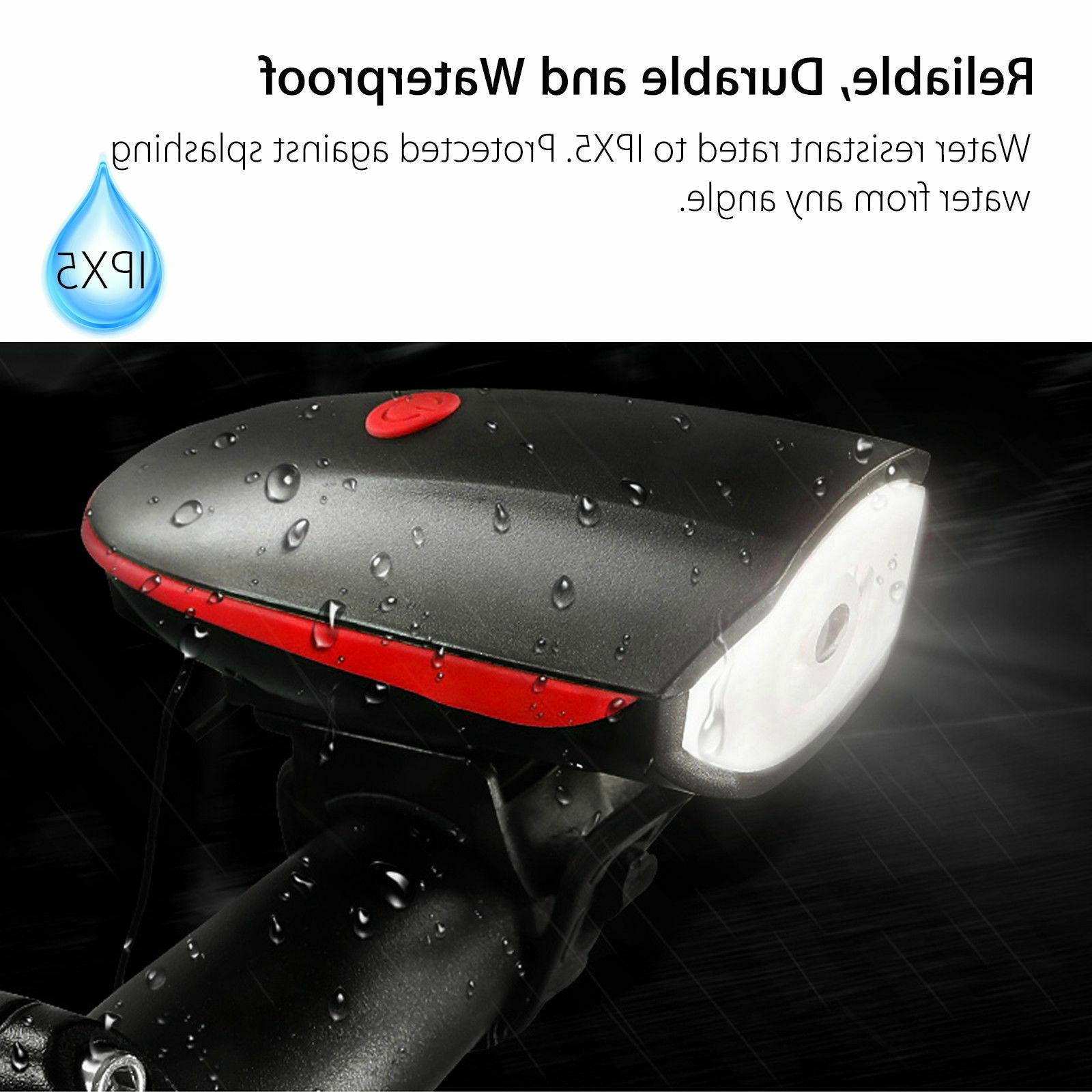 Super Bright USB Led Bike Bicycle Rechargeable Headlight &Taillight