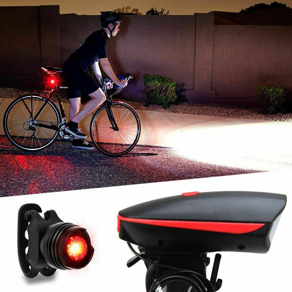 Super Bike Light Rechargeable Headlight &Taillight