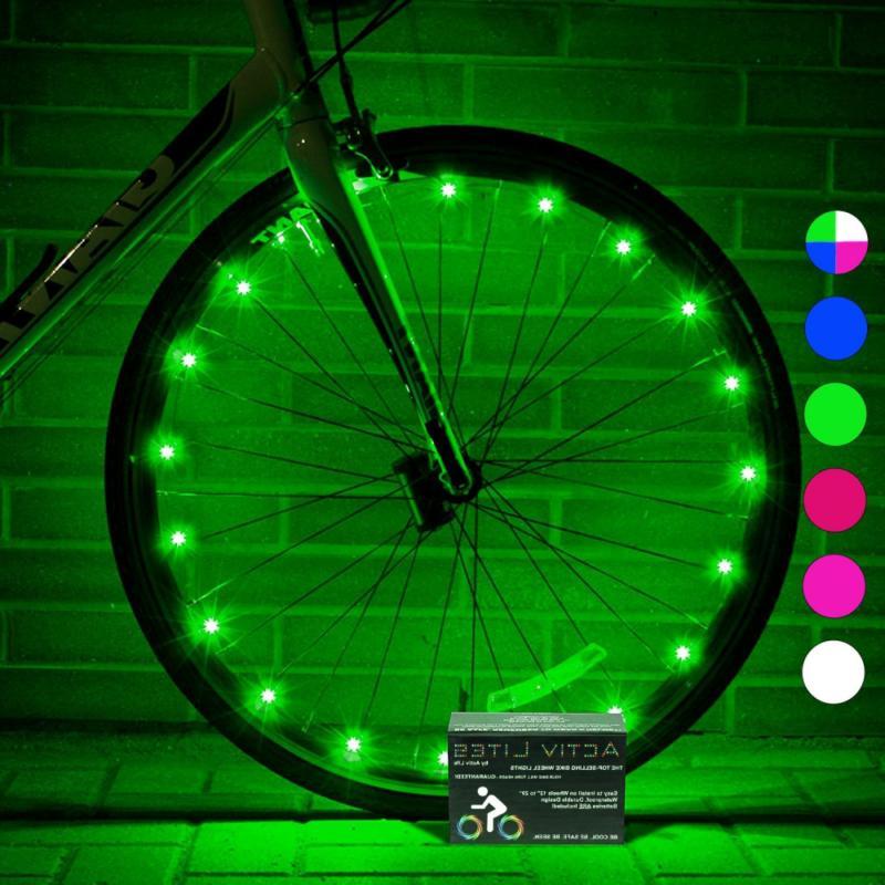 super cool bicycle wheel lights