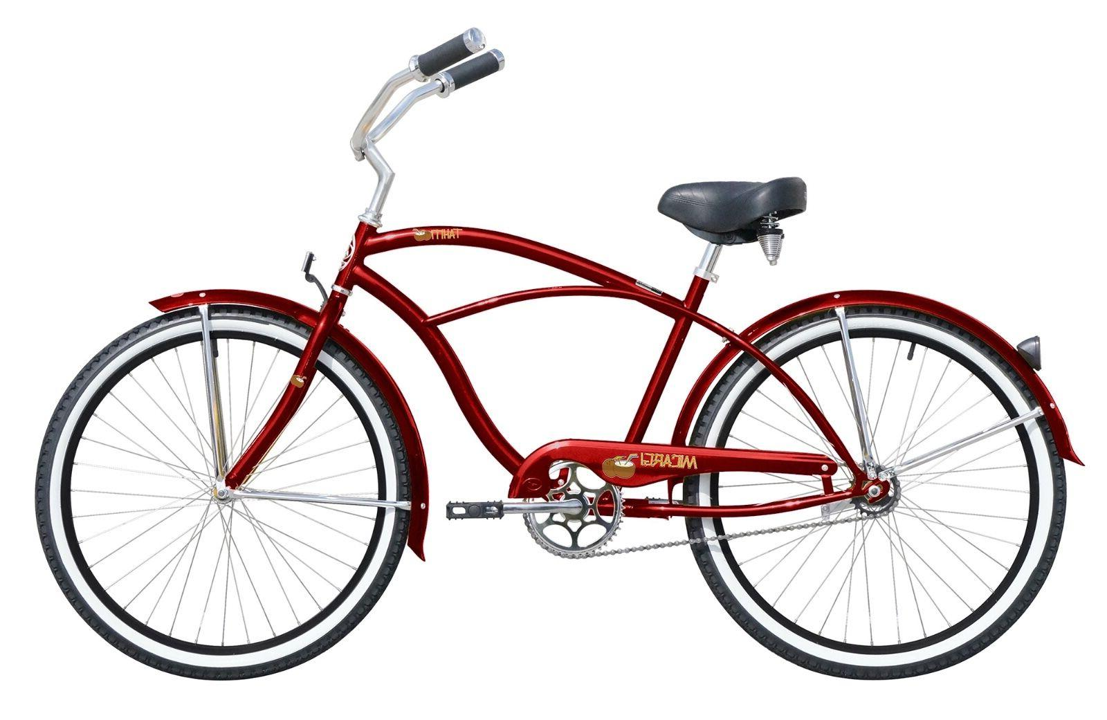 NEW Beach Cruiser Micargi Tahitti One Speed Bike Bicycle 26""
