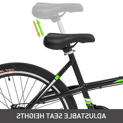 "Tandem 20"" Bicycle 21 Speed Shimano Frame Green"