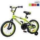 Tauki Kid Bike BMX Bike for Boys and Girls, 16 Inch, Lime, f