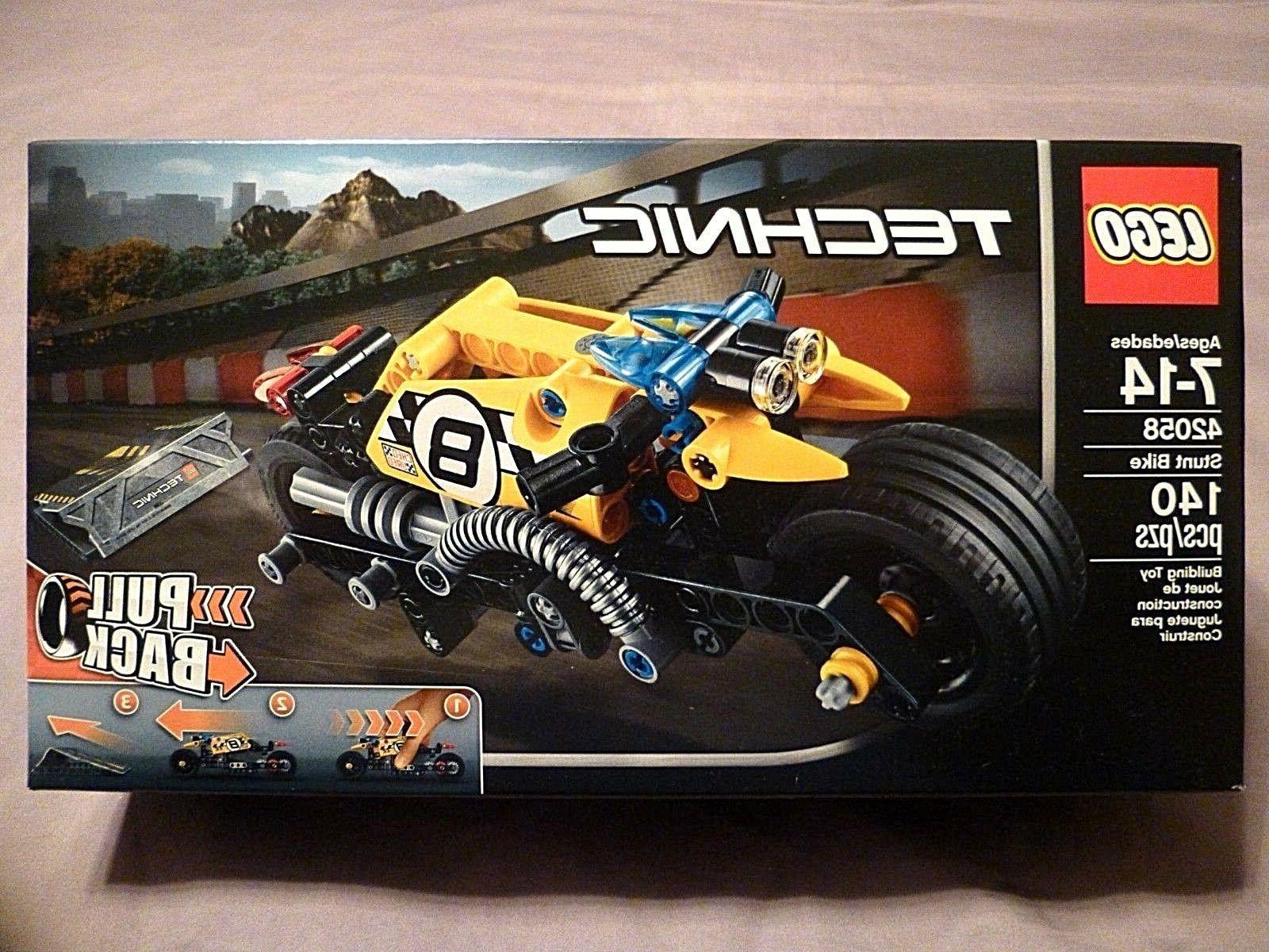 LEGO Technic Stunt Bike Model Racing Motorcycle Vehicle Buil