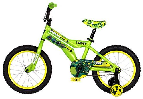 f065b0f3fc1 Teenage Mutant Ninja Turtles Boy's Bicycle, Green, 16
