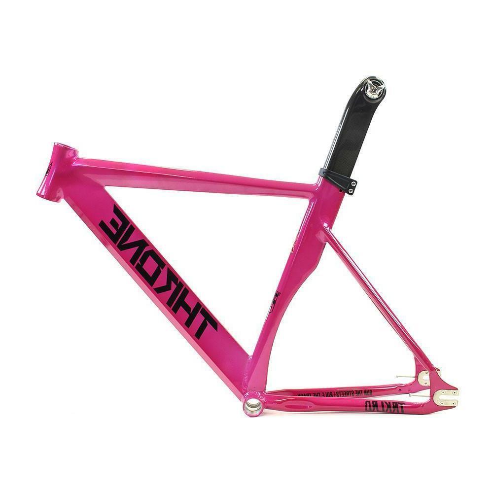 throne track lord bike frame pink mr