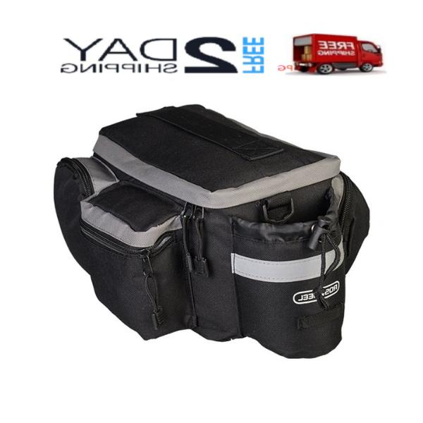 Top Solution of Bicycle New Seat Bag Rear Rack Pack Trunk Pa