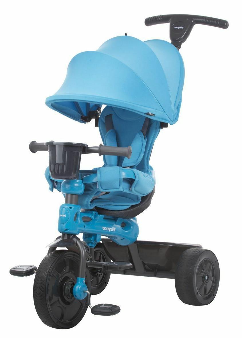 joovy Tricycoo Stage Trike Blue New