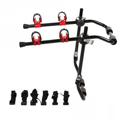 New 2-Bike Trunk Mount Rack Bicycle Rack Trunk Hitch Bike Ca
