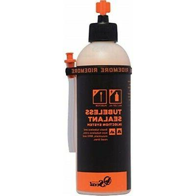 Orange Seal Cycling Tubeless Tire Sealant with Injection Sys
