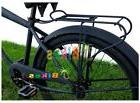 "JBikes Universal 26"" Steel Beach Cruiser Bike Rear Rack, Fla"