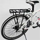 US Back Rear Rack Alloy Bike Bicycle Seat Post Frame Carrier