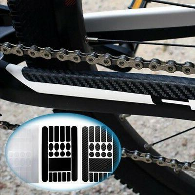 Bicycle Bike Frame Sticker Rack Stickers Anti Scratch Protec