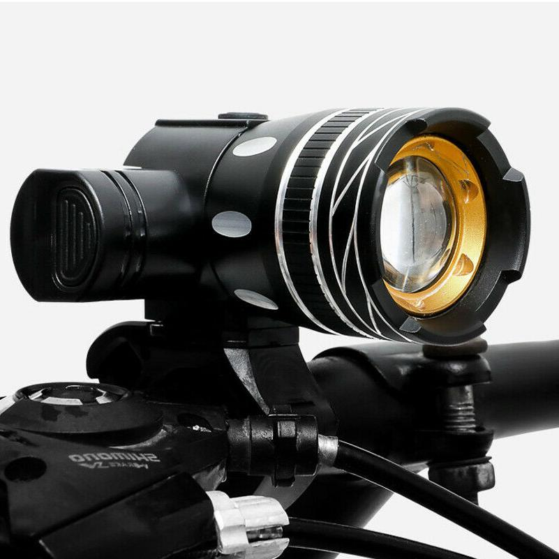 USB Light Set Front LED Zoomable Headlamp lamp