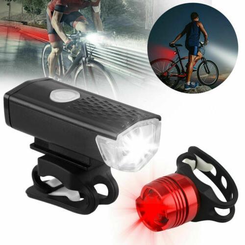 USB LED Bicycle Headlight Front Lamp USA