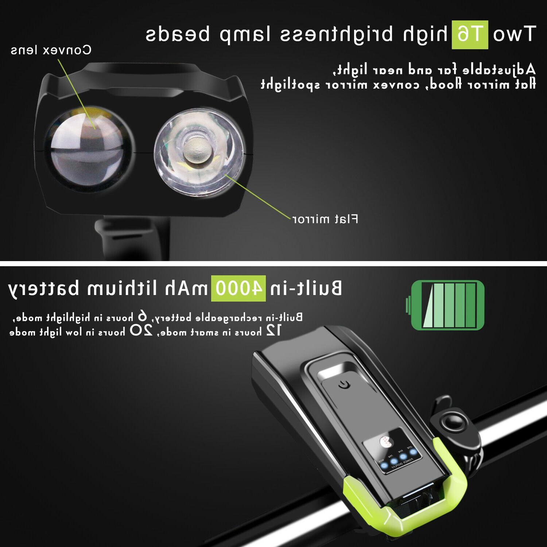Headlight Head Light Front Cycling Horn