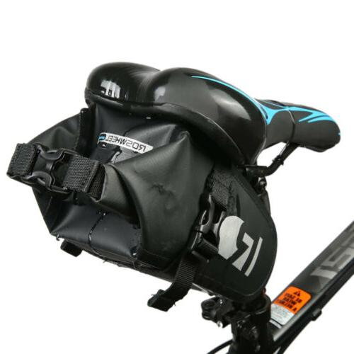 Waterproof Outdoor Bicycle Cycling Saddle Bag Tail Rear Pouc