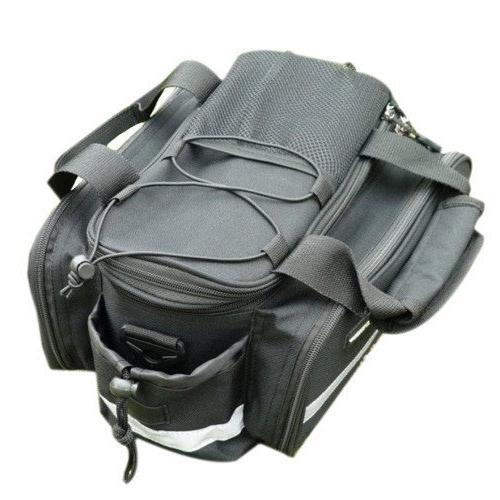 Waterproof Cycling Bicycle Bike Rear Seat Rack Storage trunk