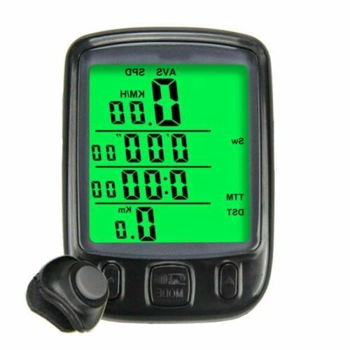 Waterproof Digital Bicycle Odometer