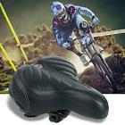 Wide Big Bum Saddle Seat Bike Bicycle Gel Cruiser Extra Comf