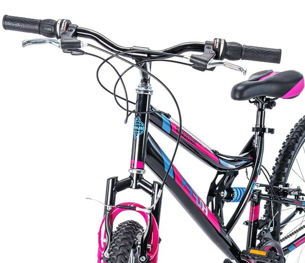 Women's Bike Huffy Sport Pink Bicycle Shimano New!