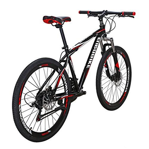 EUROBIKE GTR Mountain Speed Shifting Inches Dual Bicycle