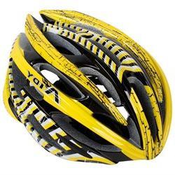 Yellow Black Stripe Pattern Adjustable Bicycle Bike Skateboa