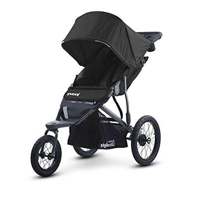 zoom 360 ultralight jogging stroller black