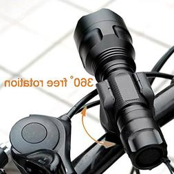 Shells Latest Version Most Convenient Black Bicycle Flashlig