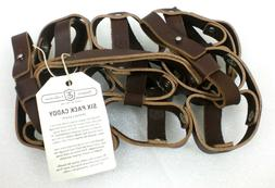 Fyxation Leather Bicycle Carrier , Brown