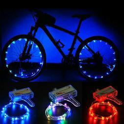 LED Bicycle Bike Cycling Rim Lights Auto Open & Close Wheel