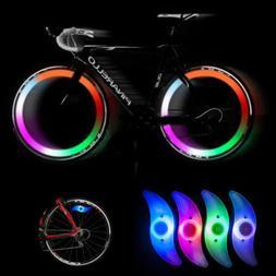 LED Bicycle Bike Cycling Wheel Spoke Wire Tyre Bright Flash