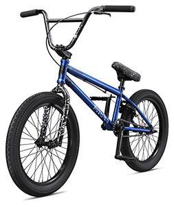 Mongoose Boys Legion L80 Bicycle, Translucent Blue, One Size