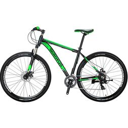Mens Mountain Bike Shimano 21 Speed Aluminium Disc Brakes Bi