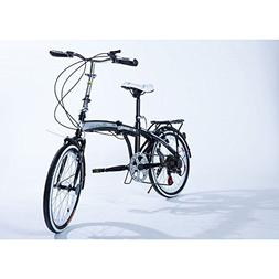 "20"" Light Weight Fast Folding Bike Best Compact Portable Fol"