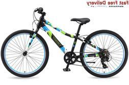 Guardian Lightweight Kids Bike 24 Inch, Safe Patented SureSt