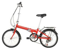 "Vilano 20"" Lightweight Aluminum Folding Bike Foldable Bicycl"