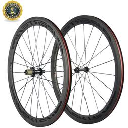 Lightweight Wheels 700C Clincher 50mm Carbon Wheelset Supert