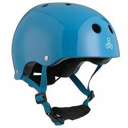 Triple Eight Lil 8 Dual Certified Helmet, Blue Glossy
