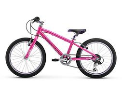 "Raleigh Bikes Lily 20 Girl's Mountain Bike, 20"" Wheels, Pink"