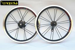 "Litepro 14"" inch rim bike wheelset bicycle 412 20H 9T wheel"