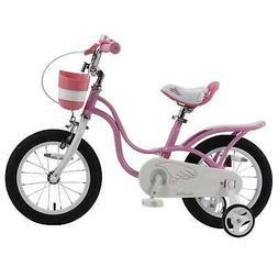 Royalbaby Little Swan Girls' Pink Bike
