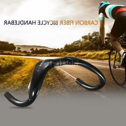 Lixada Carbon Fiber Bicycle Handlebar Track Cycling Handle B