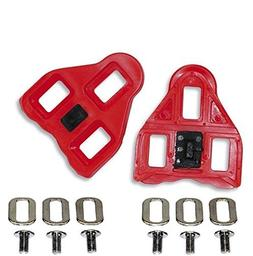 0c81049a679 Gio Look Delta Compatible Cleats Red 9 Degree Float - Indoor