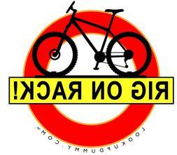 LOOK UP DUMMY - The Best Car Bike & Gear Roof Rack Warning R