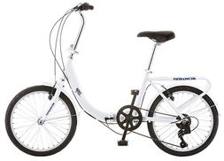 Schwinn Loop Adult Folding Bike Men's Women's 20 inch wheel