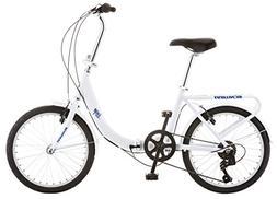 Schwinn Loop Adult Folding Bicycle, 20-Inch Wheels, 7-Speed,